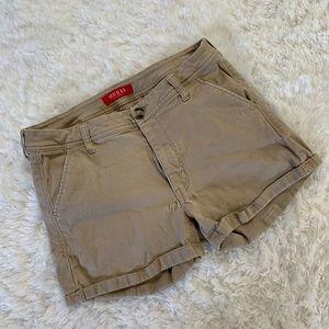 Women's Guess Khaki Shorts